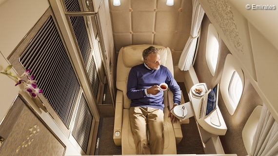 Boeing 777 Emirates First Class Privatsuite